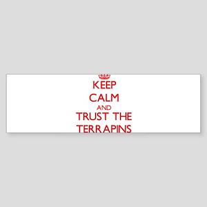 Keep calm and Trust the Terrapins Bumper Sticker