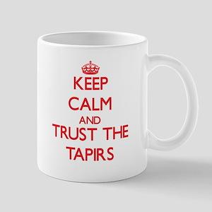 Keep calm and Trust the Tapirs Mugs