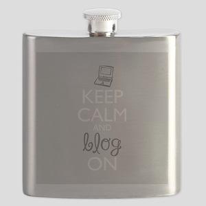 Keep Calm and Blog On Flask