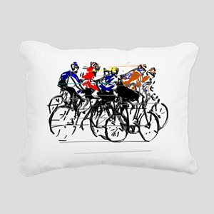 Tour de France Rectangular Canvas Pillow