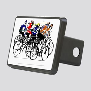 Tour de France Rectangular Hitch Cover