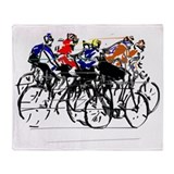 Cycling Fleece Blankets