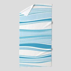 Blue Waves Beach Towel