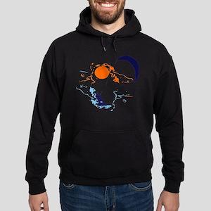 Kite Surfing Hoodie (dark)