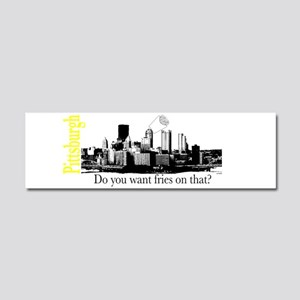 Pittsburgh Car Magnet 10 x 3