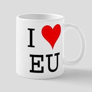 I Love EU Mug