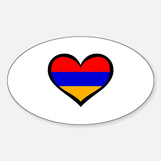 Cute Armenian Sticker (Oval)