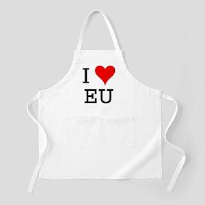 I Love EU BBQ Apron