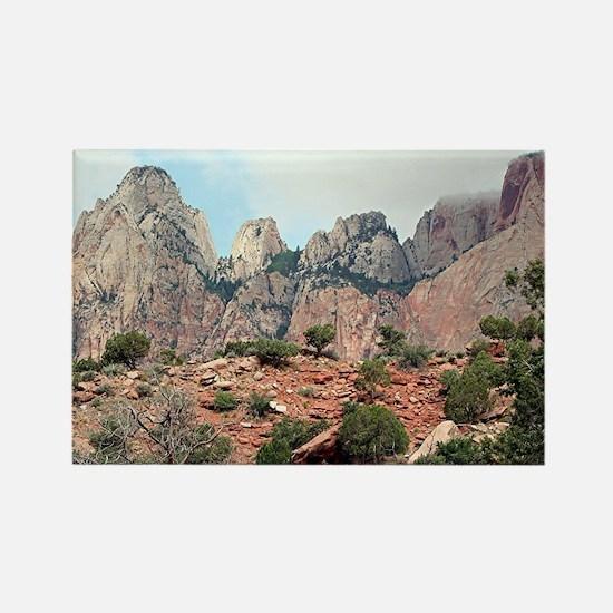 Zion National Park, Utah, USA 5 Rectangle Magnet