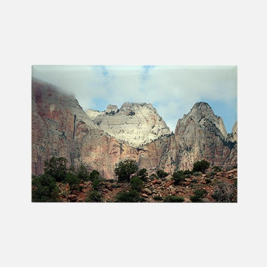 Zion National Park, Utah, USA 6 Rectangle Magnet
