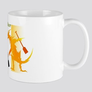 fighting with dragon Mug