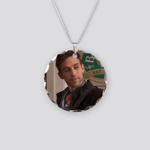 Nick Necklace Circle Charm