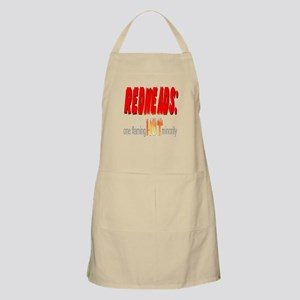 Redheads are hot! BBQ Apron
