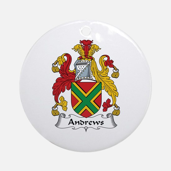 Andrews Ornament (Round)