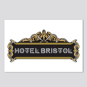 HOTEL BRISTOL Postcards (Package of 8)