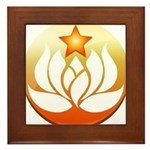 Super Yoga Framed Tile