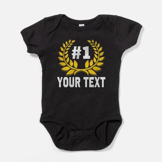Number 1 Baby Bodysuit | Personalizable Design