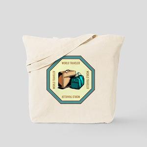 WORLD TRAVELER Tote Bag