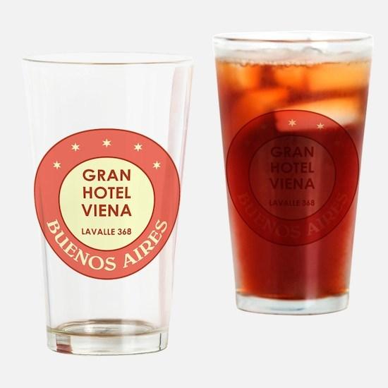 GRAN HOTEL Drinking Glass
