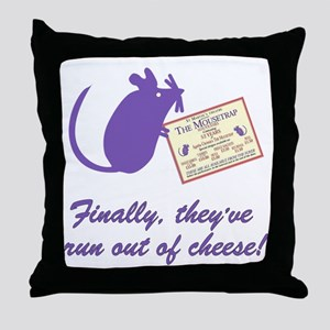 The Cheesey Throw Pillow