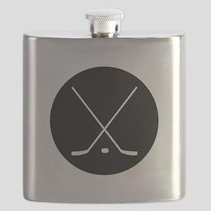 Hockey Sticks Flask
