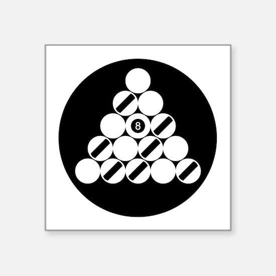 Eight Ball Rack) Sticker