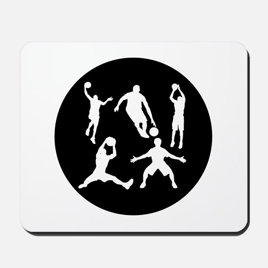 Basketball Players Mousepad