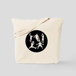 Basketball Players Tote Bag