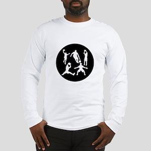 Basketball Players Long Sleeve T-Shirt
