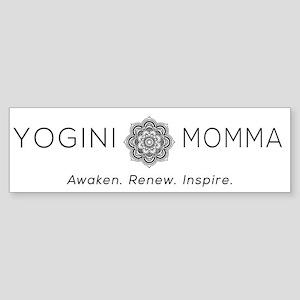 Yogini Momma Bumper Sticker