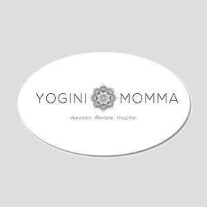 Yogini Momma Wall Decal