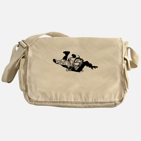 Skydiver Messenger Bag