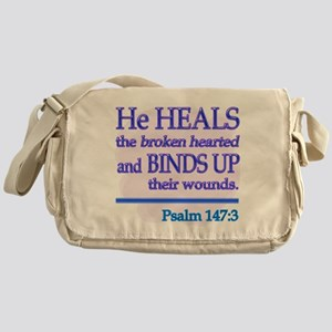 He Heals Messenger Bag