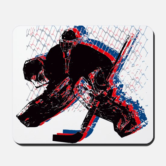 Hockey Goaler Mousepad