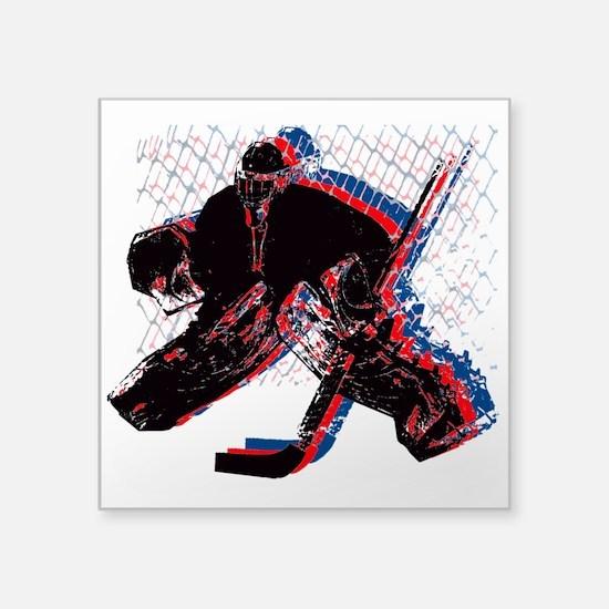 Hockey Goaler Sticker