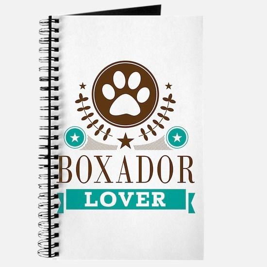 Boxador Dog Lover Journal
