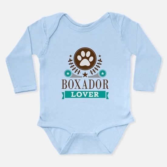 Boxador Dog Lover Long Sleeve Infant Bodysuit
