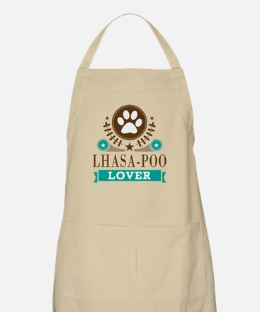 Lhasa poo Dog Lover Apron