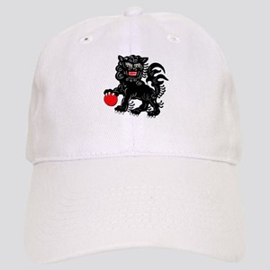 Painted Fu Dog Baseball Cap