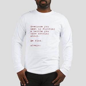 Everyone meet Long Sleeve T-Shirt