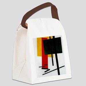 Malevich - Suprematism 1915 Canvas Lunch Bag