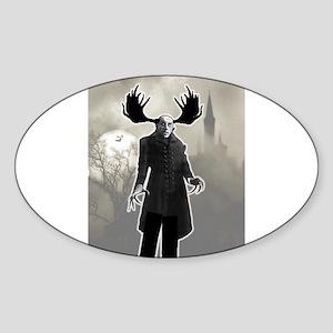 Moose-Feratu Sticker