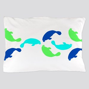 Manatees Pillow Case