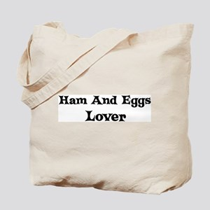 Ham And Eggs lover Tote Bag