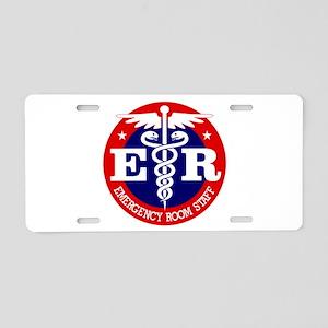 ER Staff Aluminum License Plate