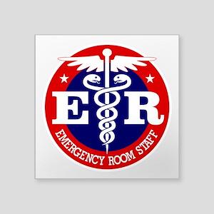 ER Staff Sticker