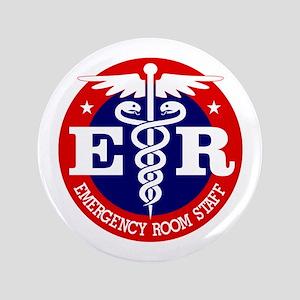 """ER Staff 3.5"""" Button"""