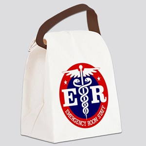 ER Staff Canvas Lunch Bag