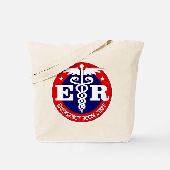 ER Staff Tote Bag