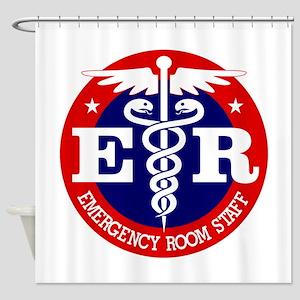 ER Staff Shower Curtain